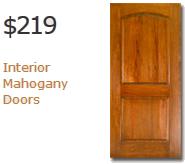 Interior Solid Mahogany Doors
