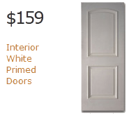 Interior Solid White Primed Doors
