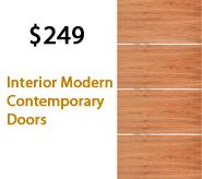 Interior Modern Contemporary Doors