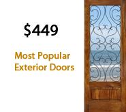 Most Popular Exterior Doors