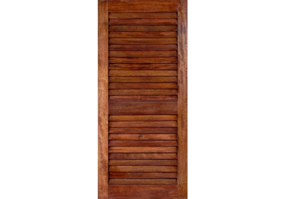 Louverma mahogany louver doors 1 3 8 interior solid for Mahogany exterior door