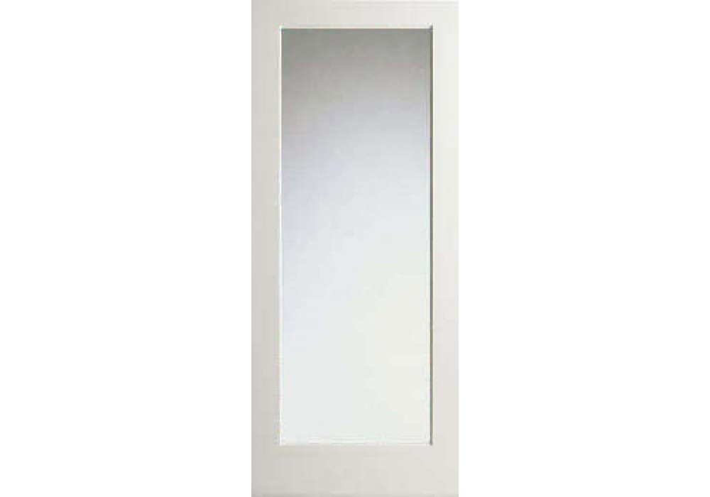 Wp1lmirror 1 Lite White Primed Interior Square Sticking 2 Side Mirror Glass Door 1 3 4
