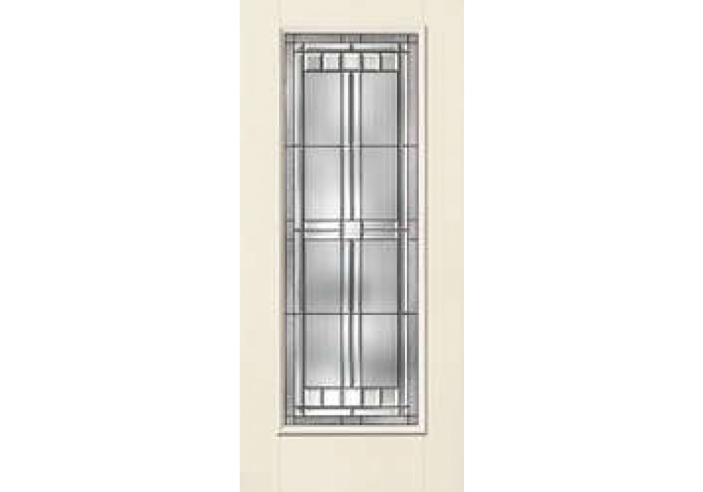 Edmond Therma Tru Smooth Star Saratoga Full Lite Door