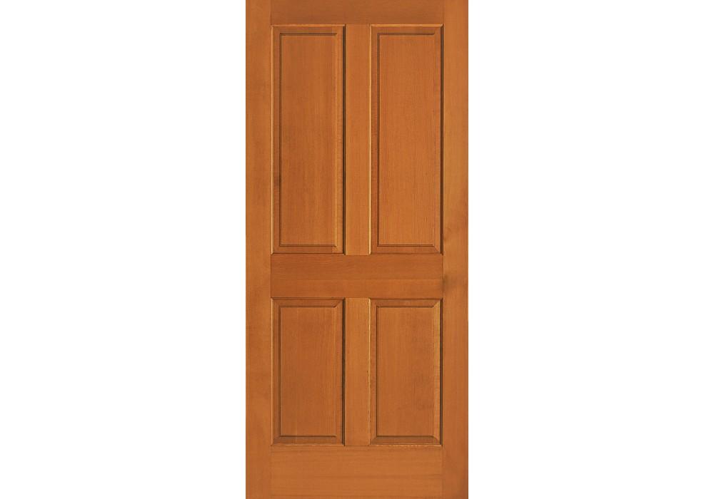 ABF44 Vertical Grain Douglas Fir Interior Doors 4 Panel 1 3 8
