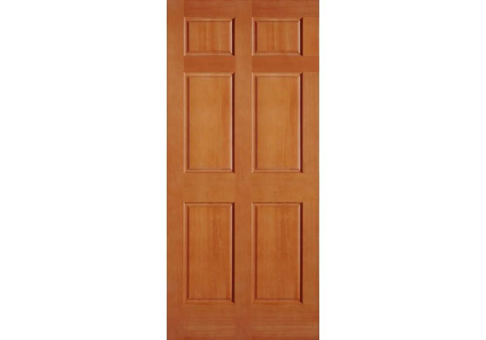 Vertical Grain Douglas Fir Interior Doors 6 Panel Eto Doors