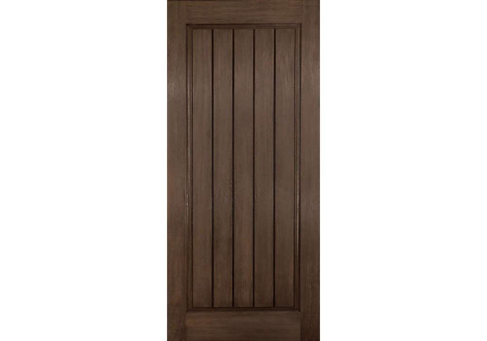 Dra1p Auburn Plastpro Rustic One Panel Square Plank