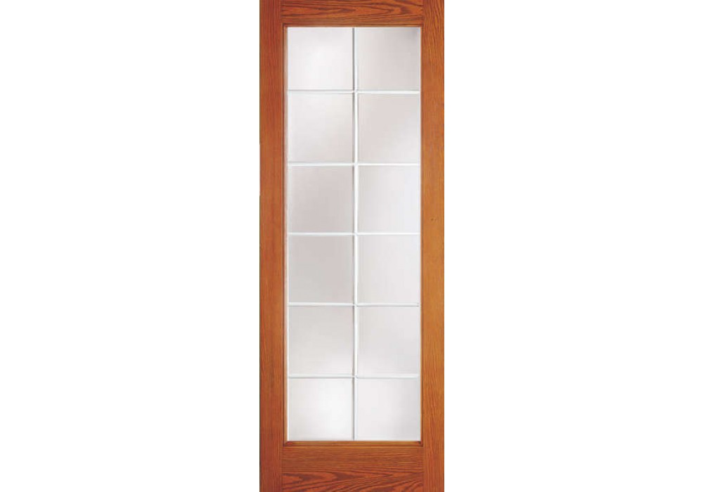 Drg1080g12 nitro plastpro 12 lite woodgrain french for 12 french door