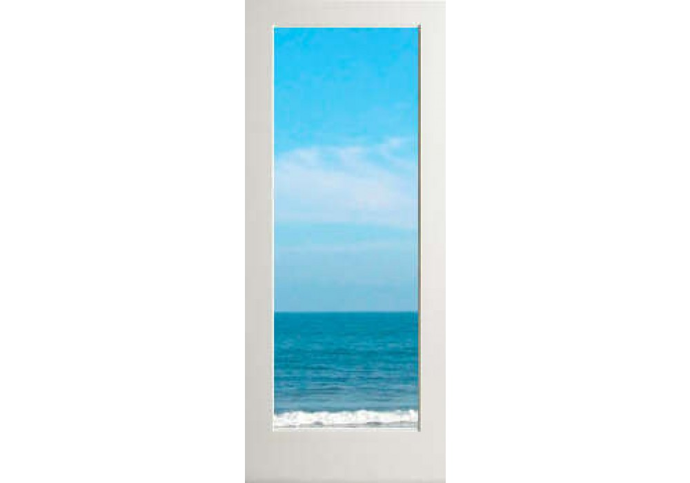 Exwp1lclear Exterior 1 Lite White Primed With Dual Clear