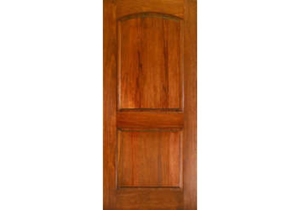 Ma230 Mahogany 2 Panel Arched Door 1 3 4 Quot Interior Doors