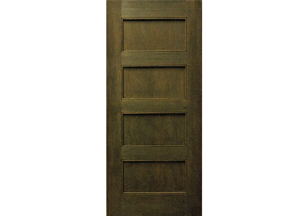 Mv6004p 80 Mahogany 4 Panel Shaker Interior Door 1 3 8