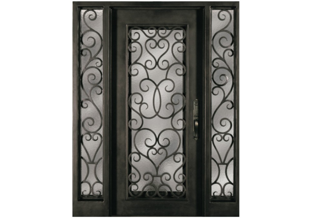 Forged Iron Doors : S shoxo escon forged iron door wrought