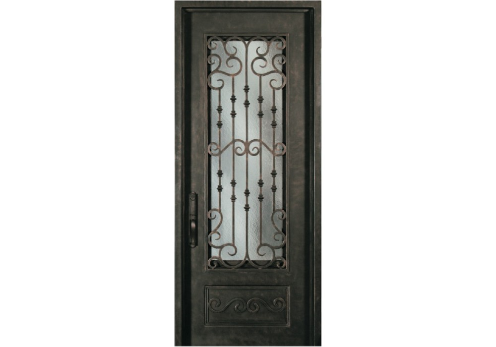 Forged Iron Doors : Sr whx escon forged iron door