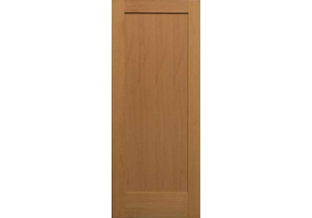 Sf720 vertical grain douglas fir interior doors 1 panel for Interior panel doors