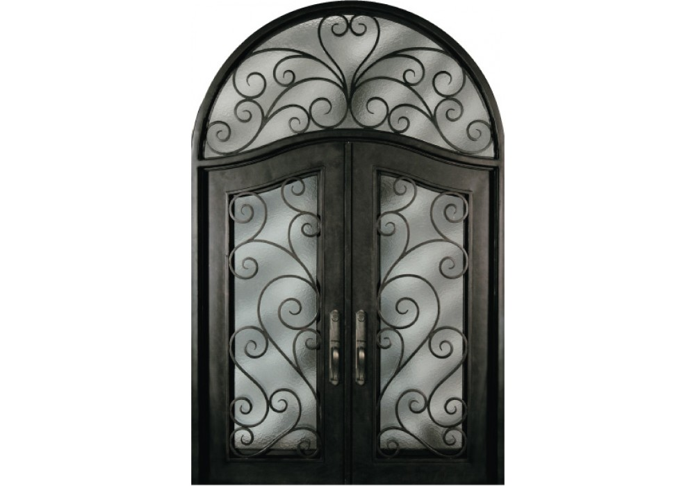 Forged Iron Doors : Sr shxxt escon forged iron door wrought