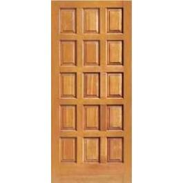 "F1500 - Vertical Grain Douglas Fir EXTERIOR 15 Panel Doors (1-3/4"")"