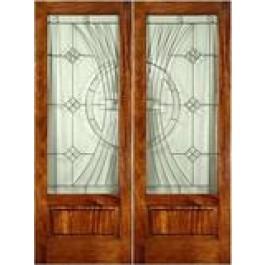 """FD1LPBEL300 - Mahogany EL300 Panel Bottom Door (8-0ft) (1-3/4"""")"""