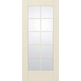 "SS2010 - Moscow-THERMA-TRU SMOOTH STAR CLEAR 10 LITE DOOR ( 1-3/4"")"