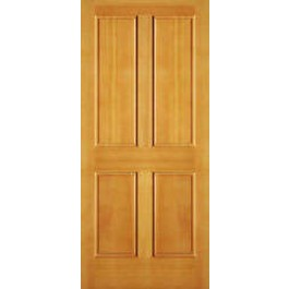 "AB2044 - Vertical Grain Douglas Fir EXTERIOR 4 Panel Door (1-3/4"")"