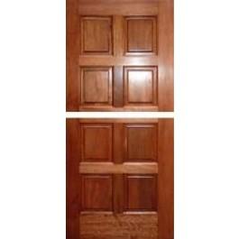 "DUTEXMA800 - Dutch: Mahogany 8 Panel Door (1-3/4"")"