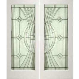 "EXWP1LEL300 - 1 Lite White Primed Square Sticking Door- EL300 (1-3/4"")"
