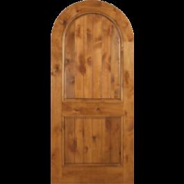 """Escon Knotty Alder Arch Door (1-3/4"""")"""
