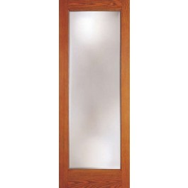 "DRG1080 - Fargo-Plastpro - WOODGRAIN FRENCH DOOR - OPEN - NO GLASS (1-3/4"")"