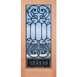 Knotty Alder 1 Lite Door- Ambassador   ETO Doors
