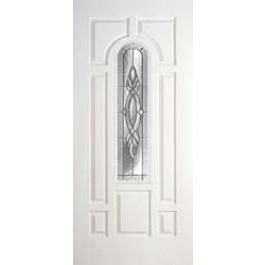 "DRS80BRE8C2Z - Albany-Plastpro - BRENTWOOD ZINC SMOOTH SKIN EIGHT PANEL DOOR (1-3/4"")"