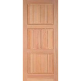 Vertical Grain Douglas Fir Exterior Craftsman Doors