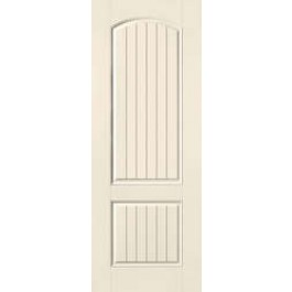 "SS8201 - Volcano-THERMA-TRU SMOOTH STAR ALL PANEL V-GROOVE DOOR (1-3/4"")"