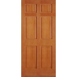 Vertical Grain Douglas Fir Interior Doors 6 Panel | ETO Doors