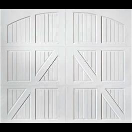 Lucern Carriage Design Steel Garage Door (Classica Series)