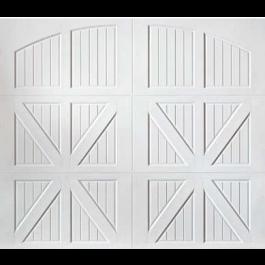 Santiago Carriage Design Steel Garage Door (Classica Series)