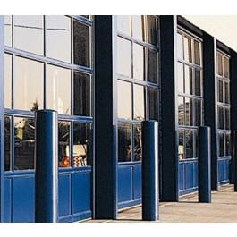 GlassCommercial - Full View Aluminum & Clear Glass Commercial Garage Door