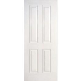 "DRS412 - Munford-Plastpro - 20 MINUTE SMOOTH SKIN TRUE FOUR PANEL DOOR (1-3/4"")"