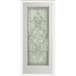 "EXWP1LEL400 - 1 Lite White Primed Square Sticking Door- EL400 (1-3/4"")"