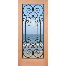 """Monte Carlo - Knotty Alder 1 Lite Door (1-3/4"""")"""