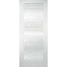 "TMC402 - Louver 2 Panel Primed Door (1-3/8"")"