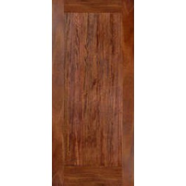 MA110 - 1-Panel Shaker (Flat panel, No Sticking) Mahogany Interior Door