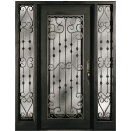 Escon Forged Iron Door S516WHOXO/51