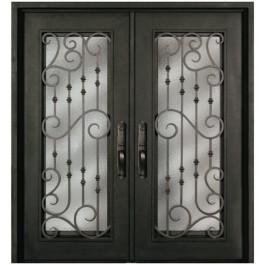 Escon Forged Double Iron Doors S516SHXX/54