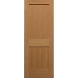 SF782 - Vertical Grain Douglas Fir Interior Doors 2 Panel | ETO Doors