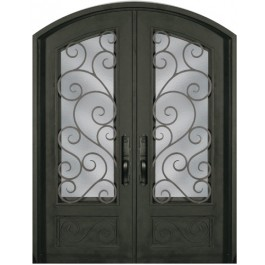 Escon Forged Double Iron Doors SS818SHXX/54