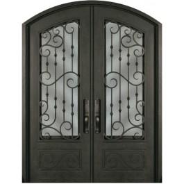 Escon Forged Double Iron Doors SS818WHXX54