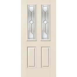 "SS930C - Magee-THERMA-TRU SMOOTH STAR CRYSTALLINE TWIN LITE DOOR (1-3/4"")"