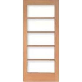 Vertical Grain Douglas Fir French Doors 5-Lite/5 High | ETO Doors