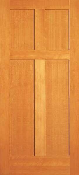 Ab762 Vertical Grain Douglas Fir Interior Doors 4 Panel