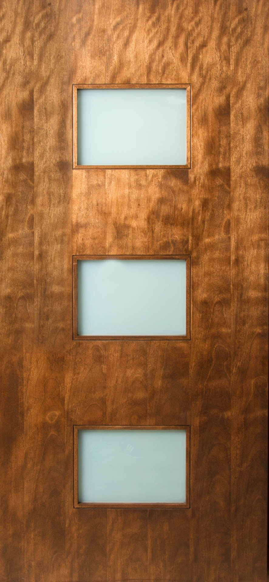 3 Rectangle Lite Door With Laminate Glass Lux Exterior