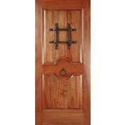 Mahogany RM2 Rustic Knotty Door