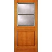Vertical Grain Douglas Fir Exterior Combo Lite | ETO Doors